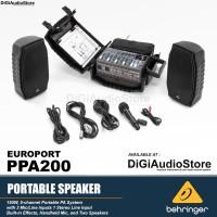 harga Behringer Ppa200 [ Ppa 200 ] Portable Speaker System Tokopedia.com