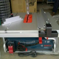 "Mesin Gergaji Meja Potong Table Saw BOSCH GTS10J GTS 10 J 10"" inch"