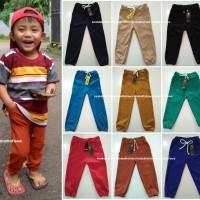 Jogger Anak 5-6th /Celana Joger Pants Panjang Polos Jeans Denim Murah