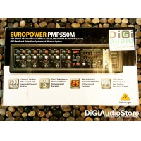 harga Behringer Pmp550m 500 Watt 5 Channel Power Mixer With Wireless Option Tokopedia.com