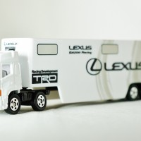 Diecast Truck Kontainer Long LEXUS GAZOO Racing Transporter Toyota