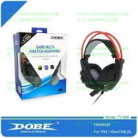 Headset Chat For Playstation 4 / PS4 / Xbox ONE S / PC Original DOBE