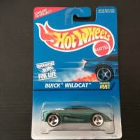 Hot Wheels Buick Wildcat Dark Green