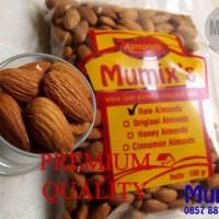 Raw almond / kacang almond mentah 250gr / untuk susu almond
