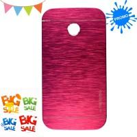 Motomo - Motorola Moto E Kim Metal Case Premium Quality - Hot Pink
