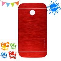 Motomo Motorola Moto E Kim Metal Case Premium Quality - Merah