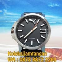 JAM TANGAN PRIA PUMA PU102941006 ULTRASIZE 50 SILVER BLACK ORIGINAL