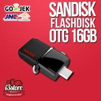 Jual SANDISK FLASH DISK  OTG 16GB DUAL DRIVE USB 3 / FLAHDISK OTG 16GB Murah