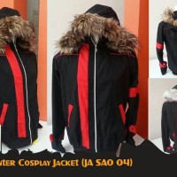 Jaket Anime Sword Art Online Kirito Winter Cosplay Jacket (JA SAO 04)
