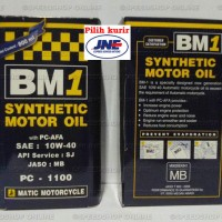 harga Oli Mesin 4T BM1 PC-1100 SAE 10W-40 0.8 Lt Motor Matic Tokopedia.com