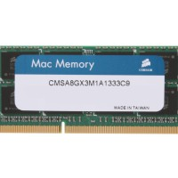 CORSAIR 8GB DDR3 1333/PC3 10600 RAM Apple MAC memory CMSA8GX3M1A1333C9