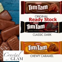 Tim Tam Timtam Australia Original Dark Chocolate Chewy Caramel Import