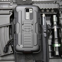 Future Armor LG K10 Hard Soft Case Belt Clip Holster cover HP Hardcase