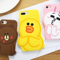 Oppo Neo 7 A33 Silicon 3D Line Friend Lovers Girly Softcase Casing Hp