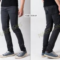 Jual Celana Panjang Jeans Pria Model Skiny Fit / Denim Super Slim - TON05 Murah