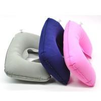 Bantal Leher U Trip Tour Pesawat Koper Inflatable Travel Pillow Murah