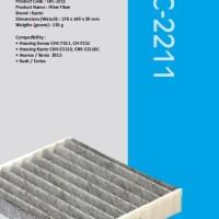 Filter AC / Kabin Kyoto - Carbon - Avanza & Xenia >2013, Rush, Terios