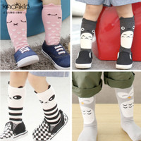 Kaos kaki anak panjang gambar binatang lucu dengan kuping - KKA002