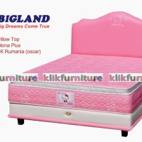 Hello Kitty Pillow Top (kasur 100x200cm) Bigland Springbed