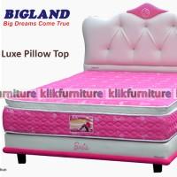 Barbie Luxe Pillow Top (kasur 100x200cm) Bigland Springbed