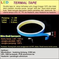 Thermal Tape 5mm 2 meter/2m