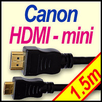 HDMI Mini Cable for Canon Canon HTC-100 HDMI for canon eos