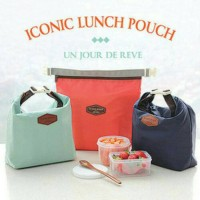 Iconic Insulated Lunch Bag / Tas Bekal Makanan Tahan Panas Dingin