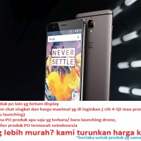 HP ONE PLUS (ONEPLUS) 3T - 128GB - ORIGINAL termurah Segel baru