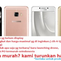 HP SAMSUNG GALAXY C7 64GB - ORIGINAL - BNIB termurah