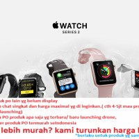 APPLE WATCH SERIES 2 SPORT BAND 38MM termurah