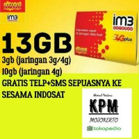 indosat 13gb gratis telp+sms UNLIMITED