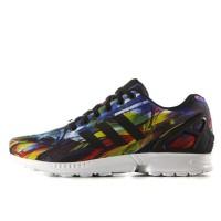 Sepatu Original Adidas Men Zx Flux Coreblack Multicolor Murah