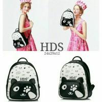 harga Backpack / Tas Ransel Hello Panda Hitam-putih Tokopedia.com