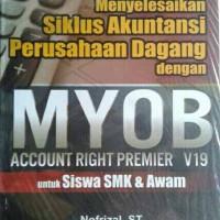 Buku Menyelesaikan Siklus Akuntansi Perusahaan Dagang dengan MYOB