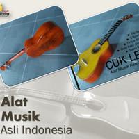 Gitar Cuk Kentrung Kencrung Senar 3 Body KAYU PAHAT Kualitas No.1