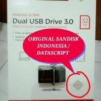 Jual Sandisk OTG Ultra 32GB DUAL USB 3.0 DRIVE ORIGINAL Murah