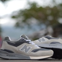 harga Sepatu Pria Sneakers New Balance 997 Semi Premium Asli Import Vietnam Tokopedia.com