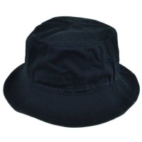 topi bucket polos dewasa hitam navy hijau cream