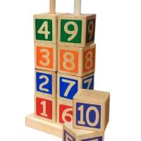 Menara Angka, mainan edukasi edukatif kayu sni murah anak edukasi toys