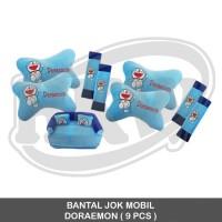 BANTAL JOK MOBIL DORAEMON ( 9 PCS )
