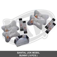 BANTAL JOK MOBIL BUNNY ( 9 PCS )