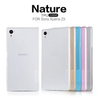 Armor Bumper TPU Crystal Clear Soft Case Cover Casing Sony Xperia Z5