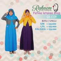 Gamis anak modern / Rahnem GH 1339 Diskon 15% /Busana Muslim/Dress