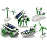 Solar Kit Mainan Edukasi Robot Kit 6 In 1