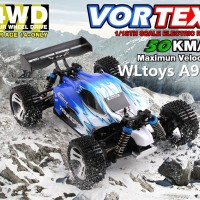 RC CAR Vortex A959 WL Toys 1:18 Scale 4WD RACING BUGGY