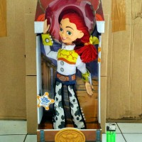 MAINAN ACTION FIGURE TOY STORY JESSIE TALKING FIGURE DISNEY 40 CM