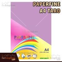 Paperfine Kertas HVS Warna A4 Taro Violet Ungu Purple / Isi 25 Lembar