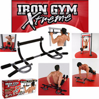 Iron Gym Total Upper Body Workout Bar - Extreme Edition ..