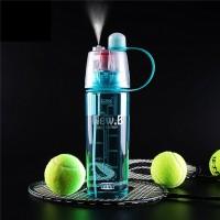 Jual Botol Water Bottle Air Minum Plastik Spray Segar Frozen BPA Free Murah