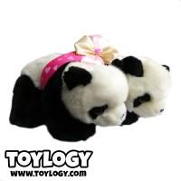 Boneka Pasangan Beruang Panda ( Couple Cute Panda Bear Doll ) 9 inch